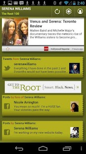 Serena Williams: The Root 100 - screenshot thumbnail