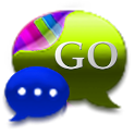 GO SMS Royal Kiwi Cobalt Theme icon