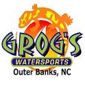Grog's Watersports logo