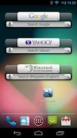Screenshot of Quick Search Widget