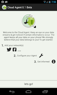 Cloud Agent (Twitter Facebook) - screenshot thumbnail