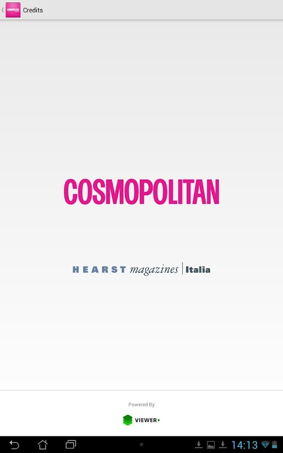 Cosmopolitan Italia- screenshot