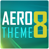 AERO 8 GO Launcher Theme