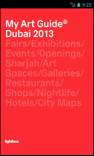 My Art Guide Art Dubai 2013