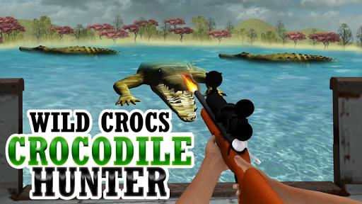 野生鱷魚,鱷魚獵人3D