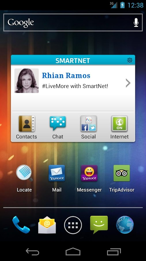 SmartNet - screenshot