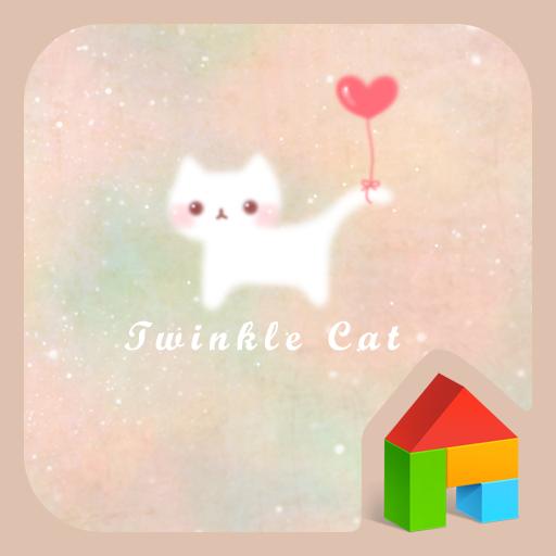 个人化のtwinkle cat dodol theme LOGO-記事Game