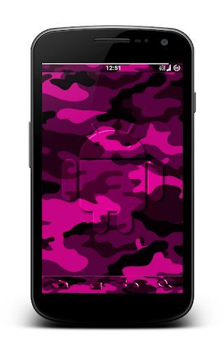 Pink Camo CM10 AOKP Theme