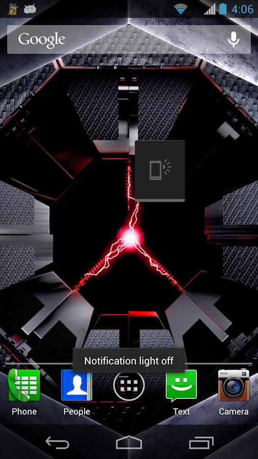 Notification Light Widget - screenshot