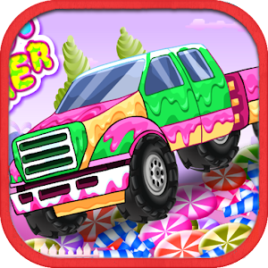 Candy Smasher Hill Racer for PC and MAC