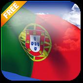 3D Portugal flag LWP