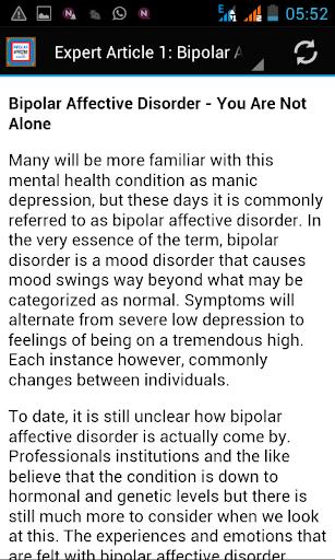 【免費健康App】Bipolar Affective Disorder-APP點子