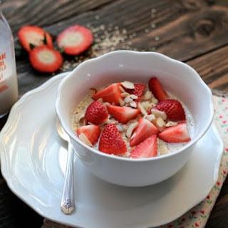 Strawberries & Cream Breakfast Quinoa.
