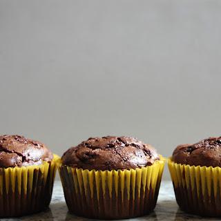Gluten Free Chocolate Zucchini Muffins.