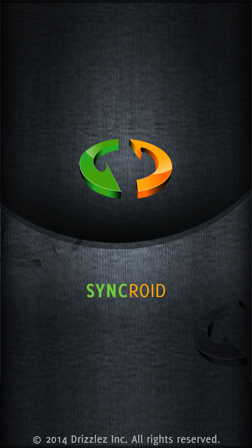 SyncRoid - Outlook Sync- screenshot