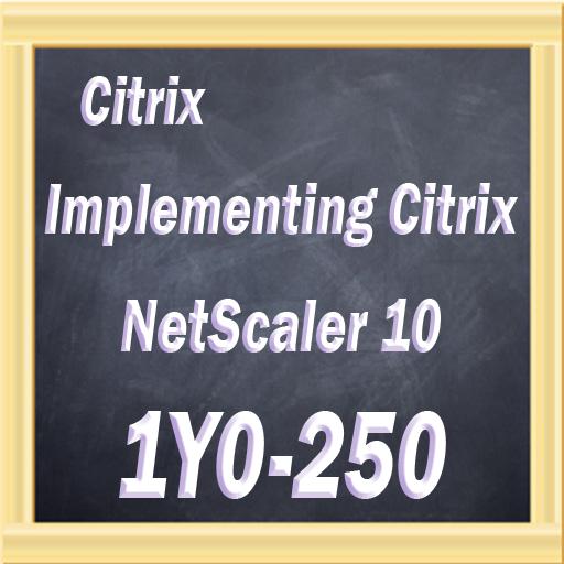 Citrix 1Y0-250 Prep LOGO-APP點子