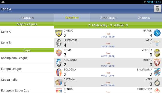 Italian Soccer 2016/2017 Screenshot 21