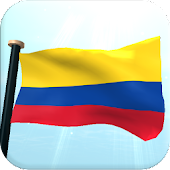 Colombia Flag 3D Free