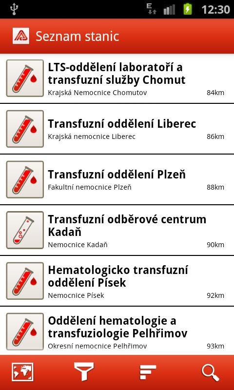 Give Blood with VZP - screenshot