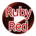 Poweramp Ruby Red Skin icon