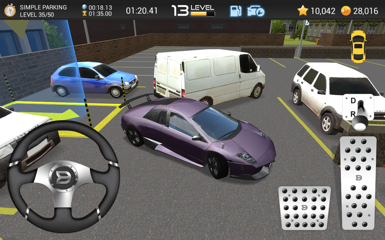 Play Car Parking Games D