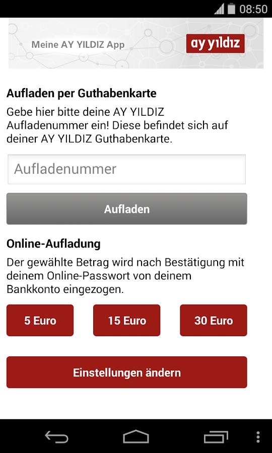 AY YILDIZ Prepaid- screenshot