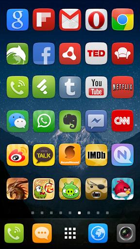 GO Launcher EX UI5.0 theme 2.08 screenshots 7