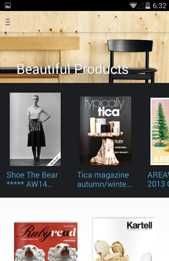 Issuu: A World Of Magazines - screenshot