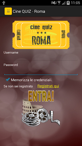 CineQuiz - Cinema e Roma