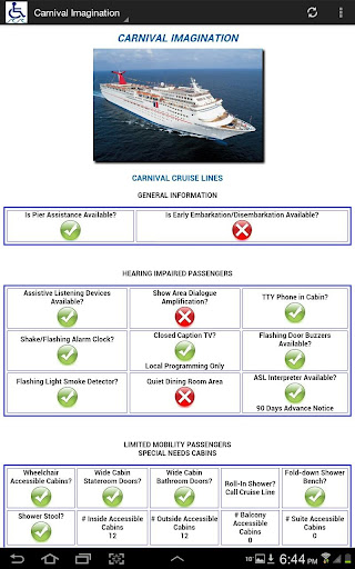 Barrier-Free Carnival Cruises