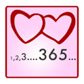Love days counter icon