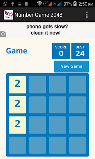 Number Game 2048