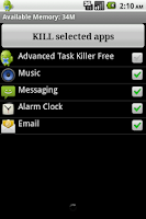 Screenshot of Advanced Task Killer