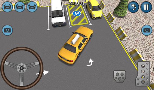 Taxi Parking Simulation