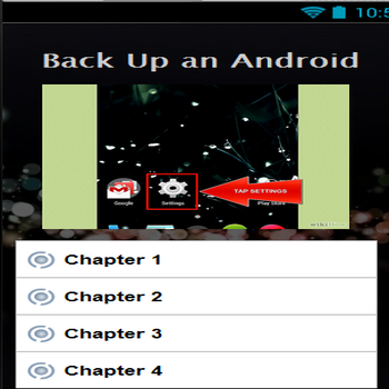 Back Up an Android Phone