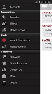 Bank of Texas Mobile - screenshot thumbnail