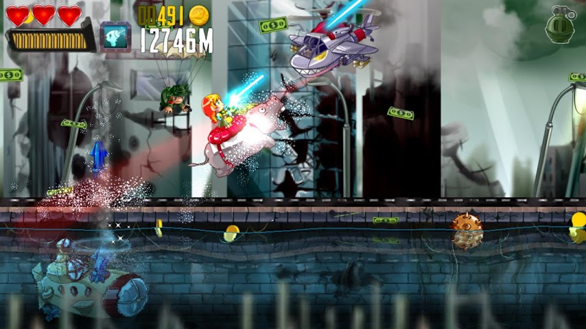 android Ramboat: Shoot and Dash Screenshot 14