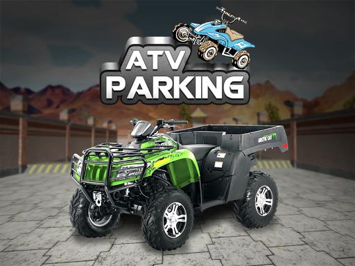 ATV駐車3Dゲーム