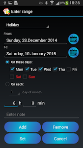 Time Manager Pro screenshot 3