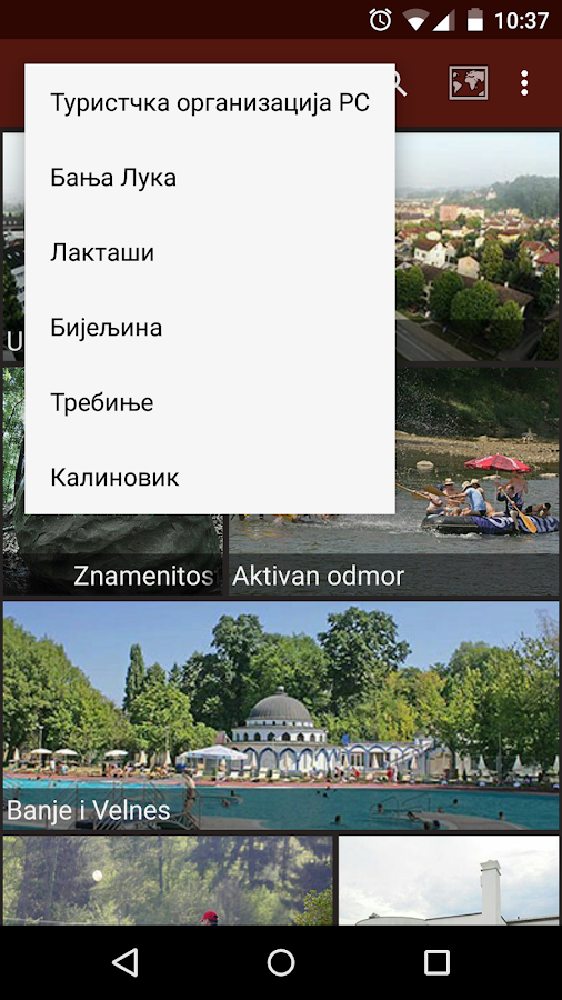 Republic Srpska Travel Guide- screenshot