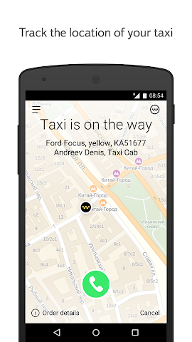 Screenshots for YandexTaxi