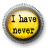 I have never (full version) logo