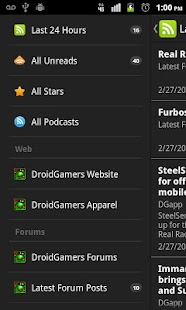 DroidGamers News - screenshot thumbnail
