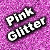 GO SMS Theme - Pink Glitter