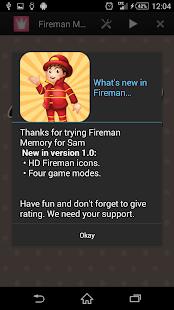 Fireman Memory for Sam