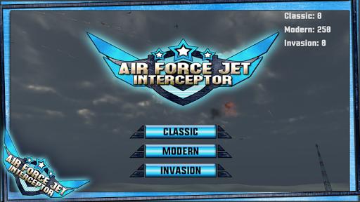 空軍ジェットのInterceptor2015