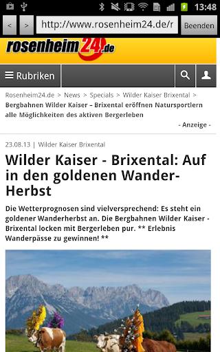 【免費新聞App】rosenheim24.de-APP點子