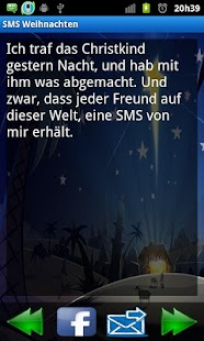 SMS Weihnachten- screenshot thumbnail