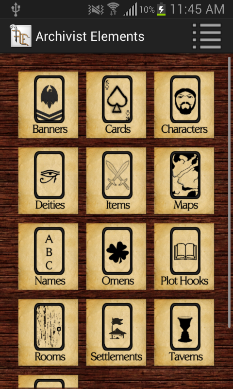 Archivist Elements- screenshot