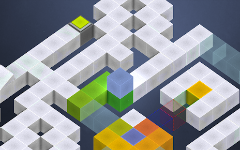 Box-E - The Colorful Cube Game - screenshot thumbnail
